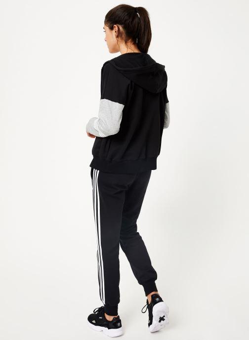 Vêtements adidas performance Wts Co Energize Noir vue portées chaussures