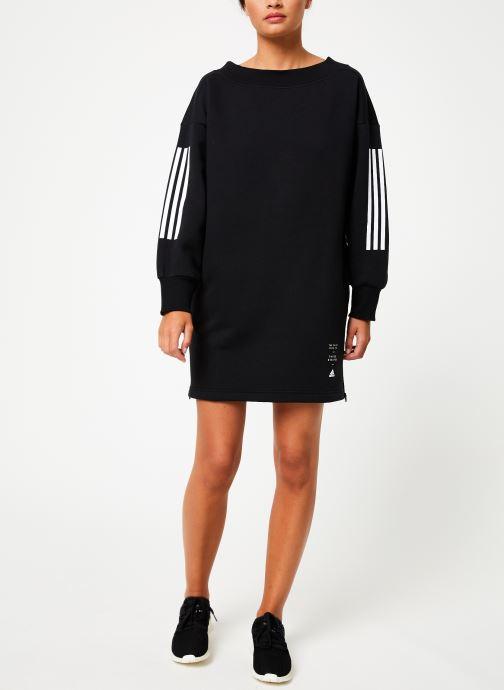 Vêtements adidas performance W Id Tunic Noir vue bas / vue portée sac