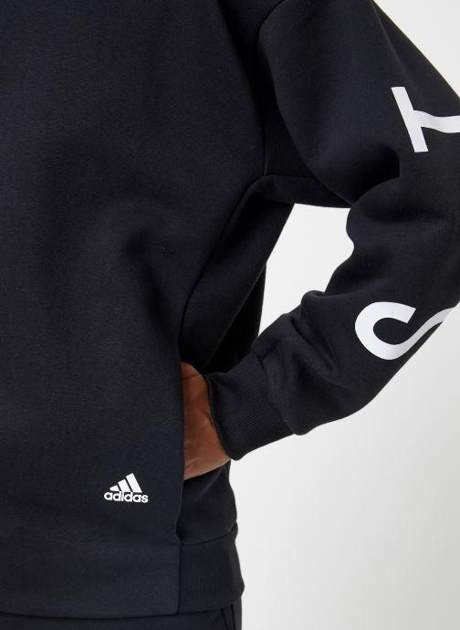 Vêtements adidas performance W S2S Swt Crew Noir vue face