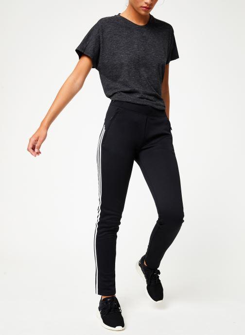Vêtements adidas performance W Id 3S Sk Pant Noir vue bas / vue portée sac