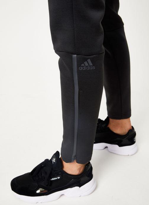 Vêtements adidas performance W Zne Pt Noir vue face