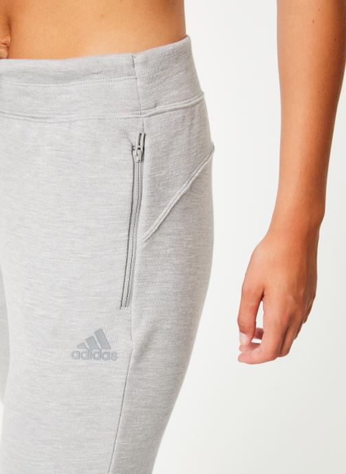 Vêtements adidas performance W Id Melang Pnt Gris vue face