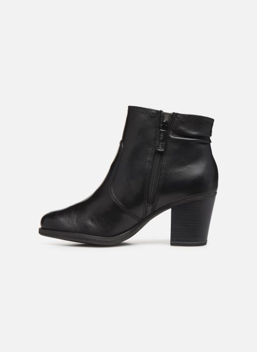 Boots en enkellaarsjes Tamaris Doli Zwart voorkant