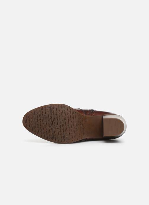 Bottines et boots Tamaris Doli Marron vue haut
