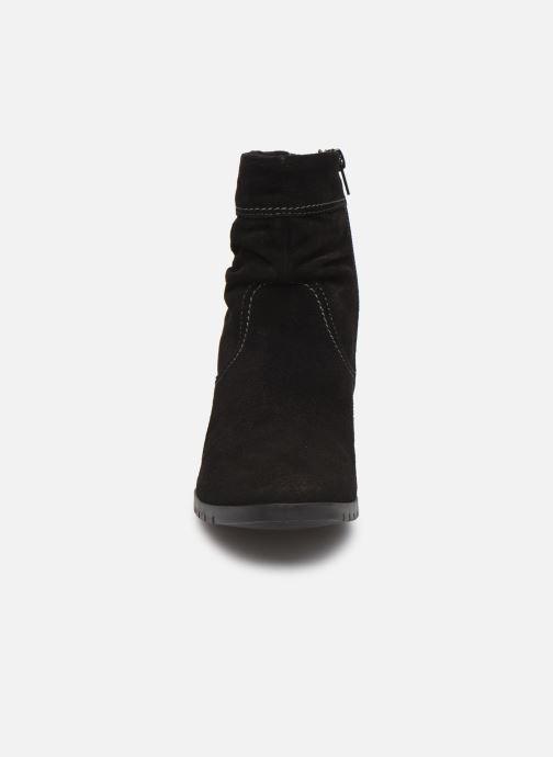 Bottines et boots Tamaris Patti Noir vue portées chaussures