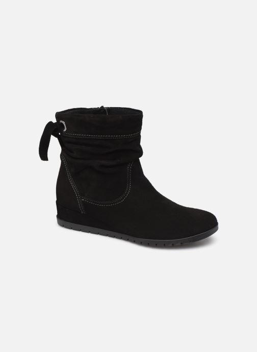 Boots en enkellaarsjes Tamaris Patti Zwart detail