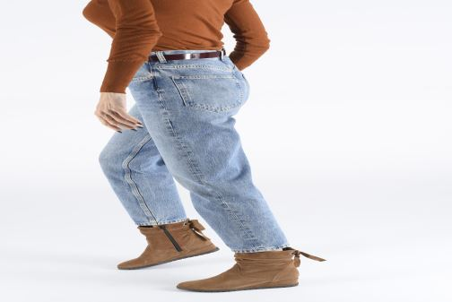 Bottines et boots Tamaris Patti Marron vue bas / vue portée sac