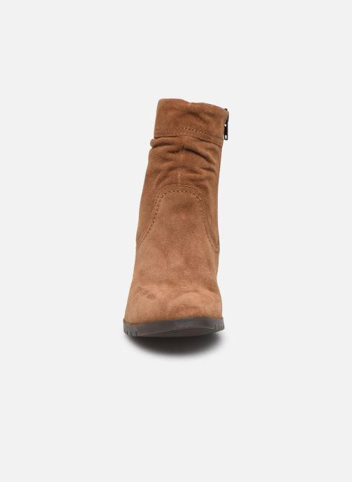 Bottines et boots Tamaris Patti Marron vue portées chaussures