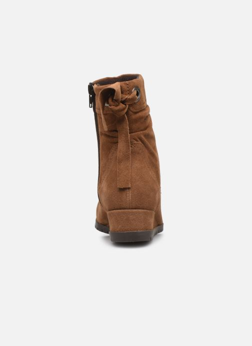 Ankle boots Tamaris Patti Brown view from the right