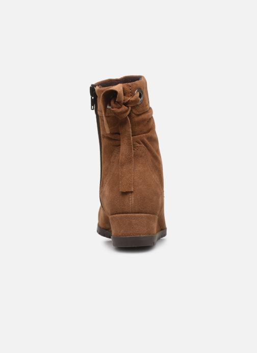 Bottines et boots Tamaris Patti Marron vue droite