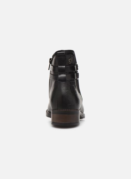Ankle boots Tamaris Sali Black view from the right