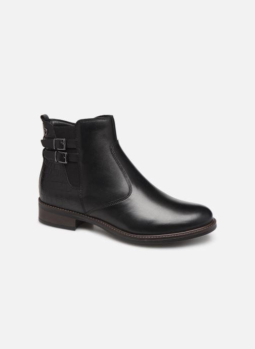 Ankle boots Tamaris Sali Black detailed view/ Pair view