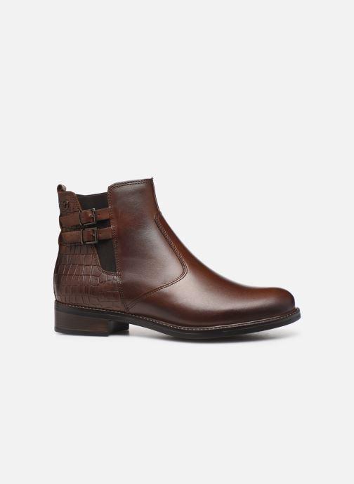 Boots en enkellaarsjes Tamaris Sali Bruin achterkant