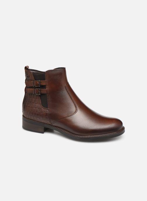 Ankelstøvler Tamaris Sali Brun detaljeret billede af skoene