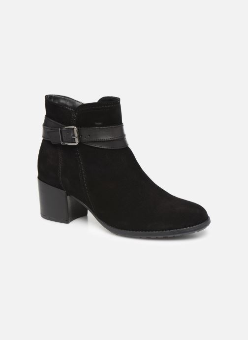 Boots en enkellaarsjes Tamaris Bali Zwart detail