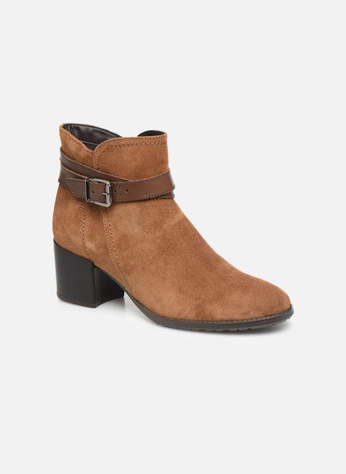 Boots en enkellaarsjes Tamaris Bali Bruin detail