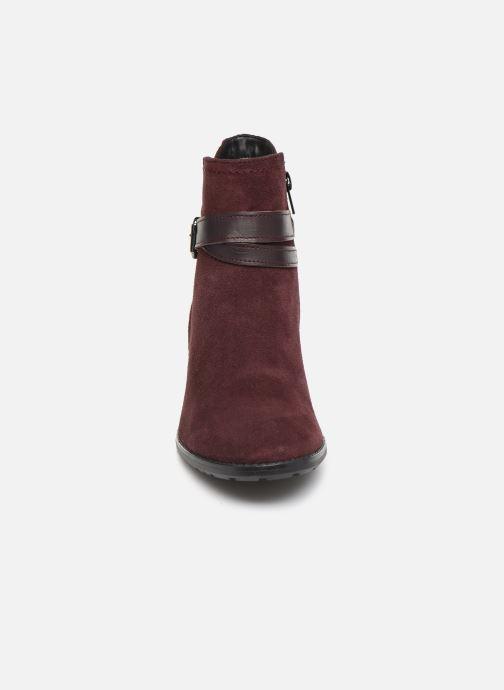 Bottines et boots Tamaris Bali Bordeaux vue portées chaussures