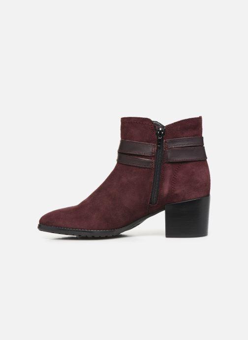 Bottines et boots Tamaris Bali Bordeaux vue face