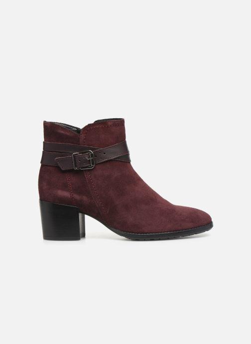 Bottines et boots Tamaris Bali Bordeaux vue derrière