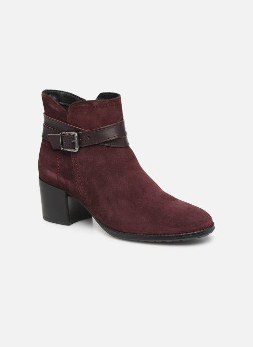 Bottines et boots Tamaris Bali Bordeaux vue détail/paire