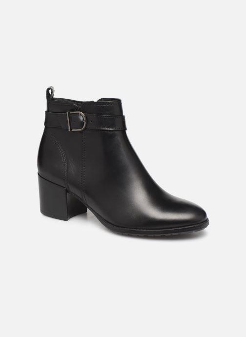 Ankelstøvler Tamaris Balina Sort detaljeret billede af skoene
