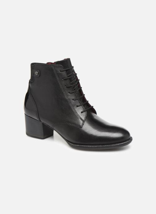 Boots en enkellaarsjes Tamaris Silvia Zwart detail