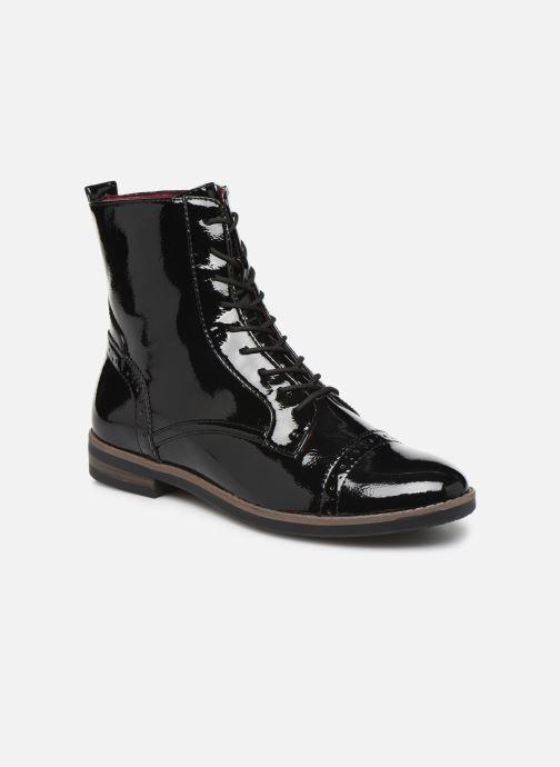 Boots en enkellaarsjes Tamaris Laura Zwart detail