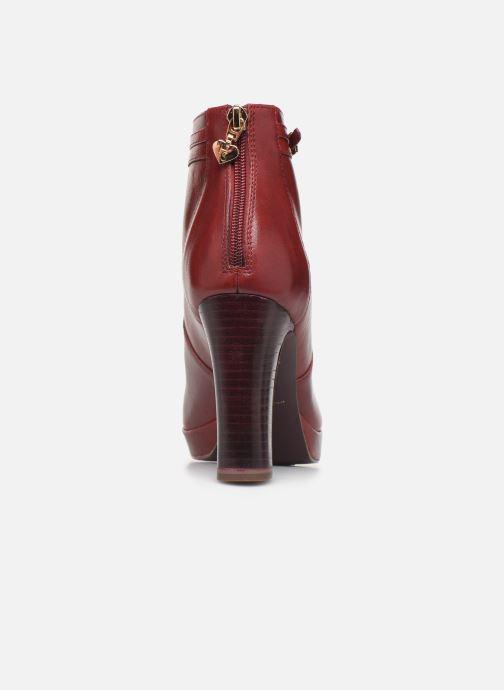 Stiefeletten & Boots Tamaris ESTRID BIS rot ansicht von rechts