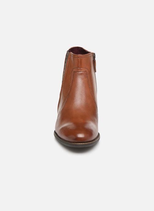 Bottines et boots Tamaris Prisca Marron vue portées chaussures