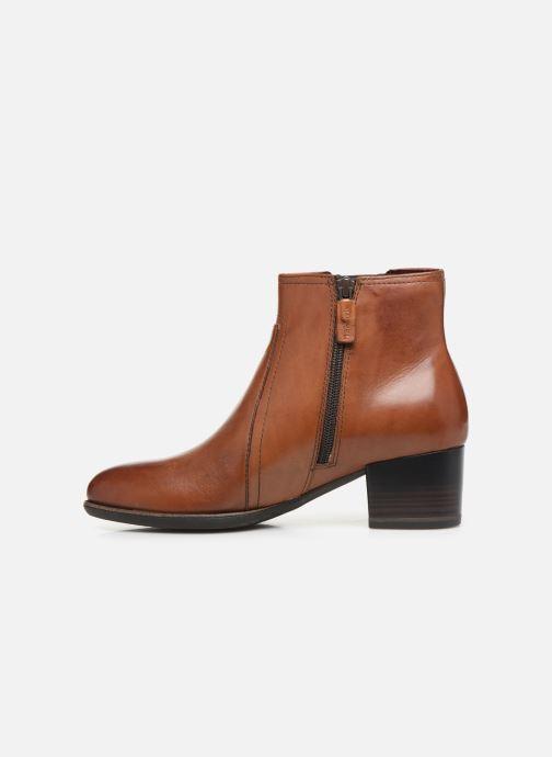 Bottines et boots Tamaris Prisca Marron vue face