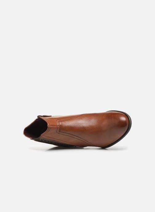 Bottines et boots Tamaris Prisca Marron vue gauche