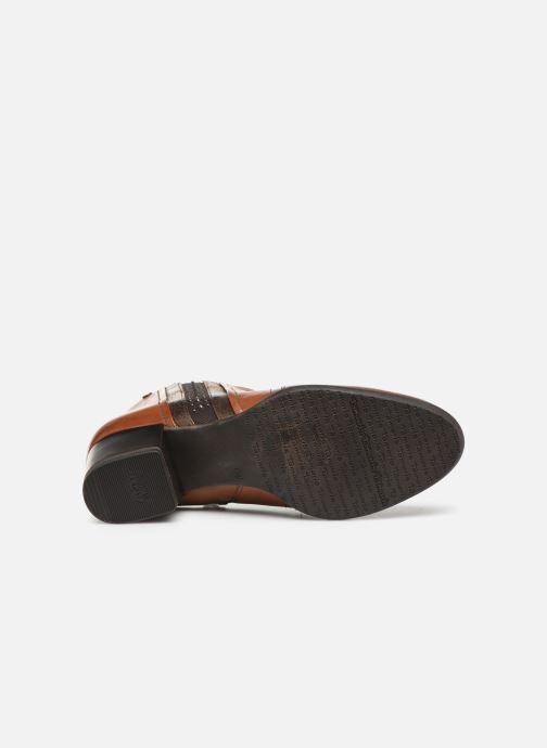 Bottines et boots Tamaris Prisca Marron vue haut