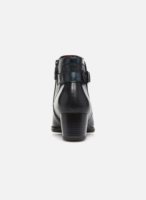 Bottines et boots Tamaris Roxane NEW Bleu vue droite