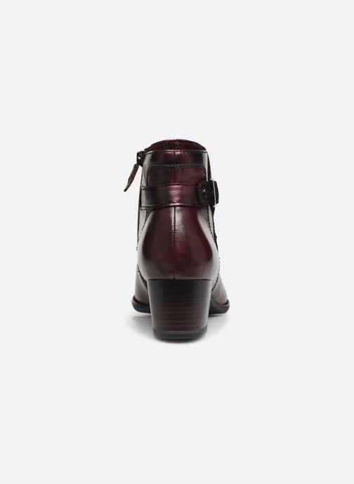 Bottines et boots Tamaris Roxane NEW Bordeaux vue droite