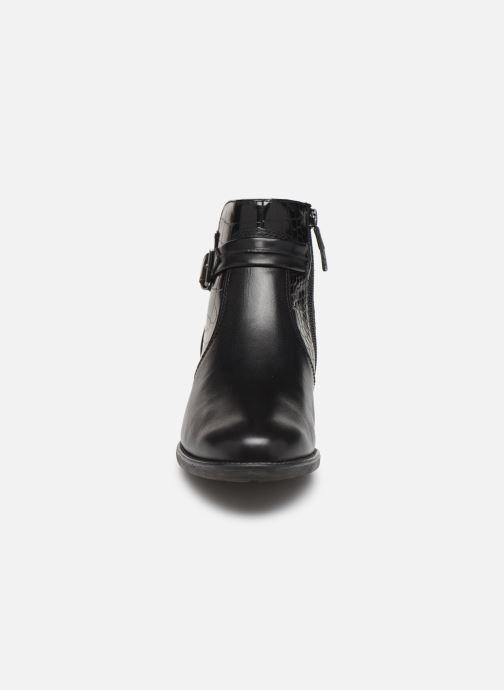 Boots en enkellaarsjes Tamaris Riley Zwart model