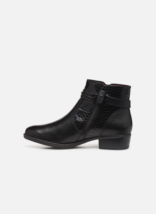 Boots en enkellaarsjes Tamaris Riley Zwart voorkant