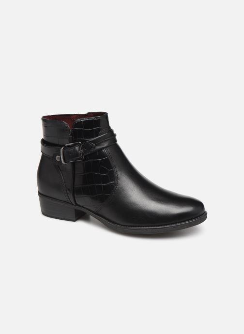 Boots en enkellaarsjes Tamaris Riley Zwart detail