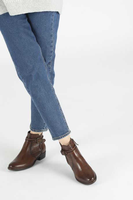 Bottines et boots Tamaris Greyia bis Marron vue bas / vue portée sac