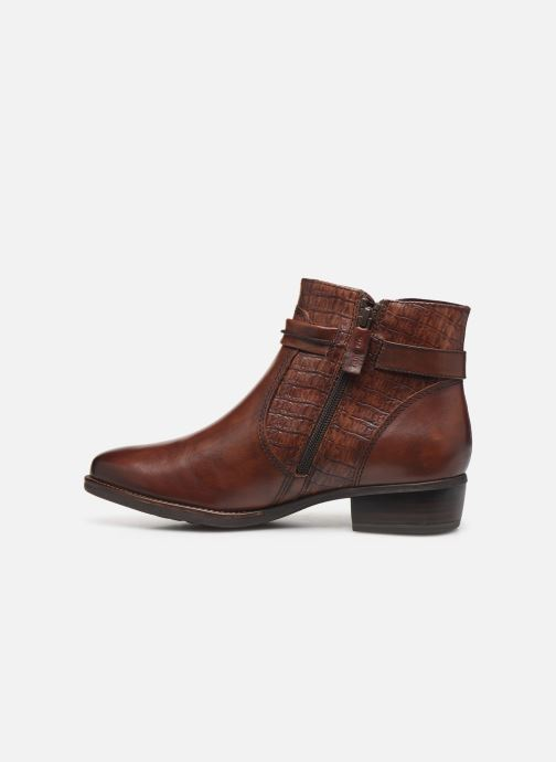 Bottines et boots Tamaris Greyia bis Marron vue face