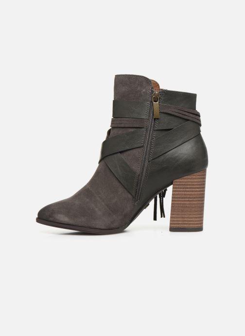 Bottines et boots Tamaris Sandy Gris vue face