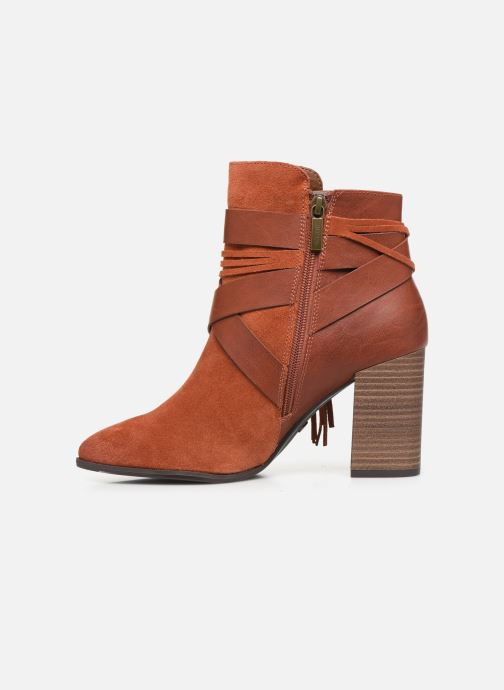 Ankle boots Tamaris Sandy Brown front view