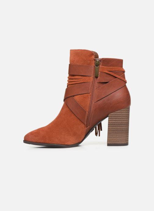 Boots en enkellaarsjes Tamaris Sandy Bruin voorkant