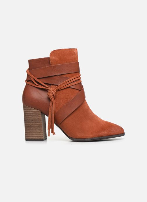 Ankle boots Tamaris Sandy Brown back view