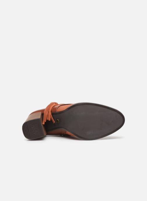 Stiefeletten & Boots Tamaris Sandy braun ansicht von oben