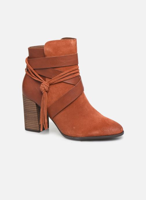 Ankle boots Tamaris Sandy Brown detailed view/ Pair view