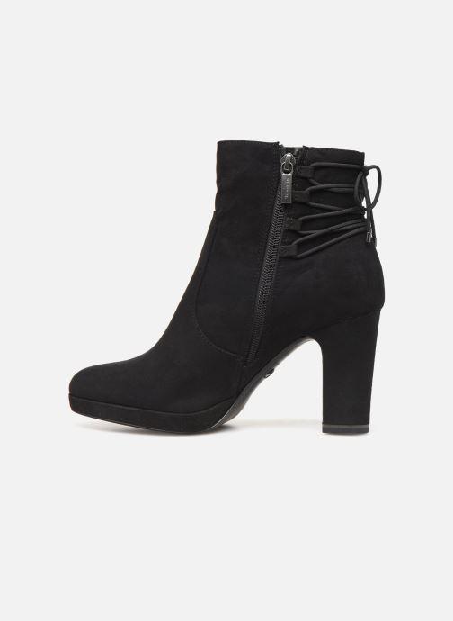 Boots en enkellaarsjes Tamaris Sophia Zwart voorkant
