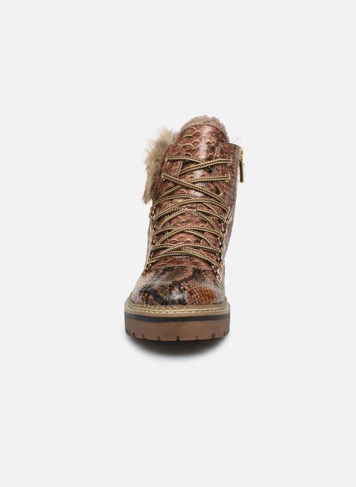 Boots en enkellaarsjes Tamaris Sarah Bruin model