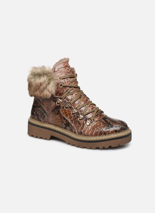 Boots en enkellaarsjes Tamaris Sarah Bruin detail