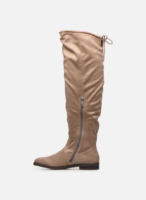 Stiefel Tamaris Clio beige ansicht von vorne