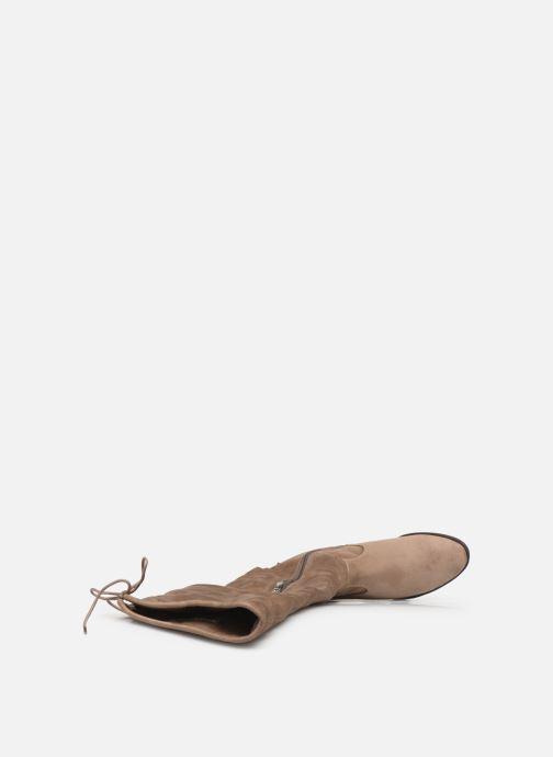 Stiefel Tamaris Clio beige ansicht von links